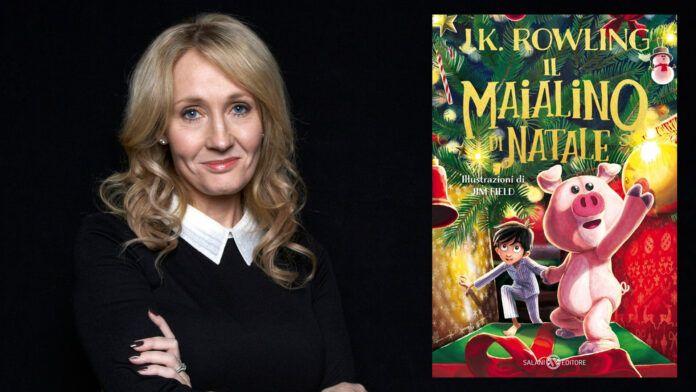 JK Rowling Harry Potter Il Maialino di Natale