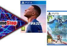 Offerte GameStop FIFA 22 Horizon Forbidden West PlayStation 4 PlayStation 5
