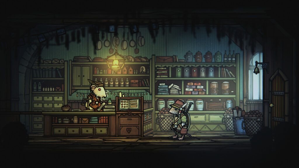 Tails of Iron Recensione Shop