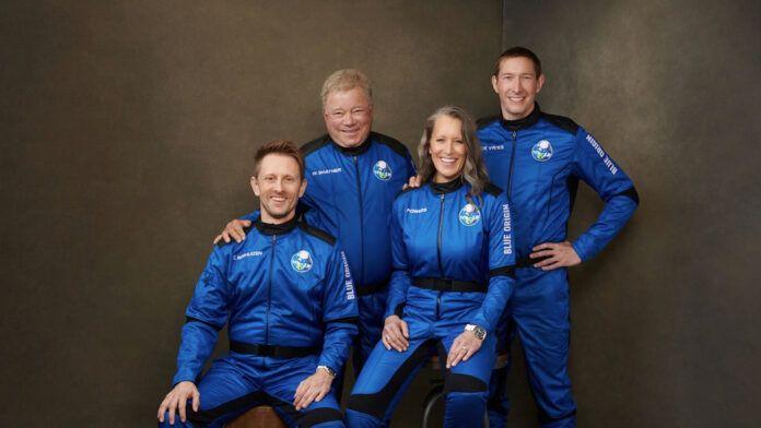 William Shatner Capitano Kirk Blue Origin