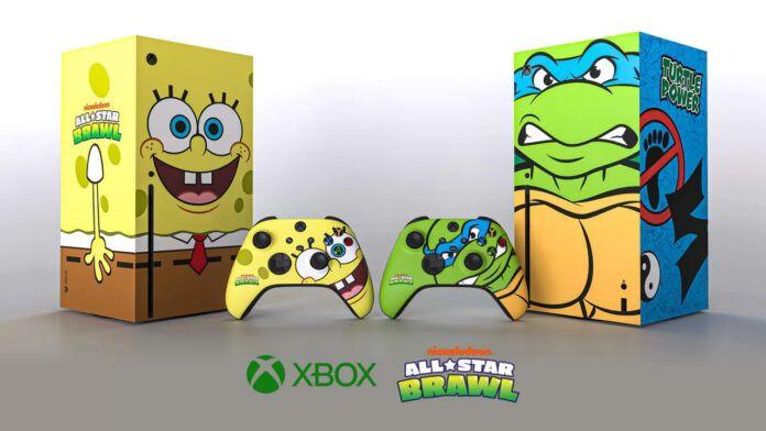 Xbox Series X Giveaway Console Spongebob Tartarughe Ninja Nickelodeon All-Star Brawl